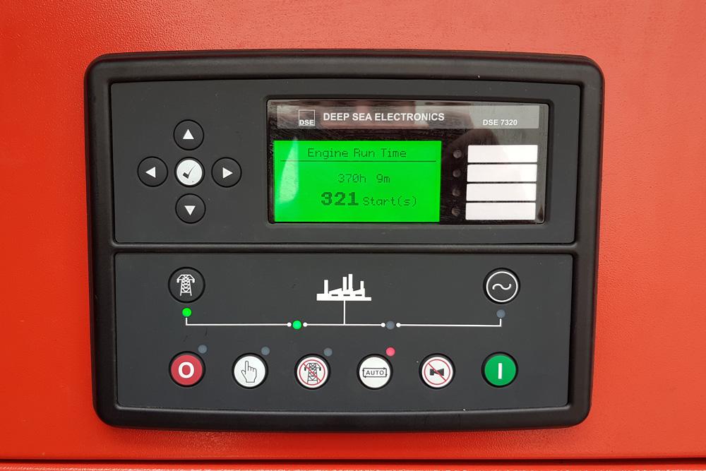 generator motor control panel